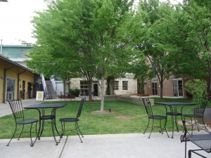 EDS Courtyard After